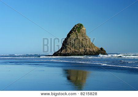 Wild West Coast Beach