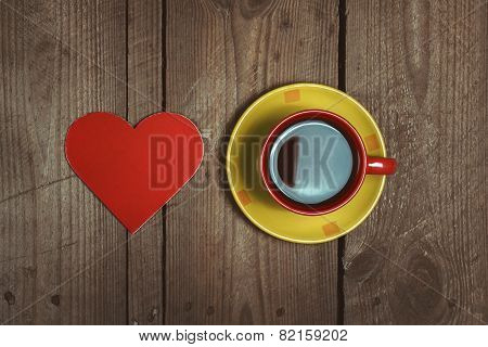 Heart And Cup