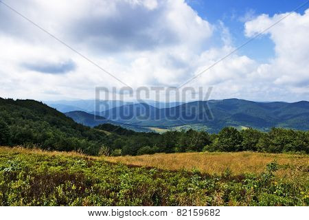 Polish Green Mountains Carpathians