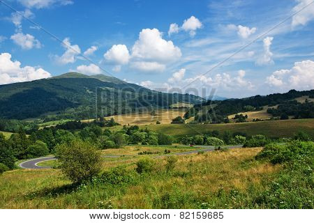 Polish Green Mountains Carpathians