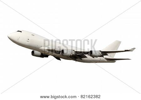 Large White Aircraft