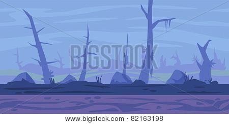 Swamp Game Background