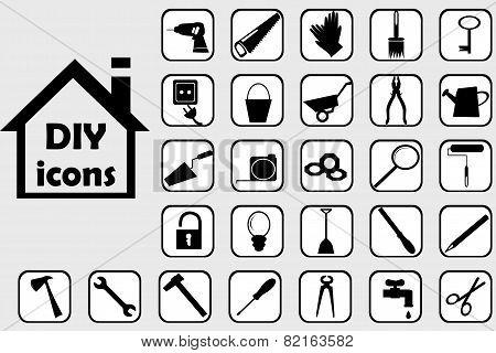 Diy Icons Set