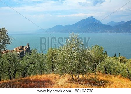 View To Garda Lake And Pai Village