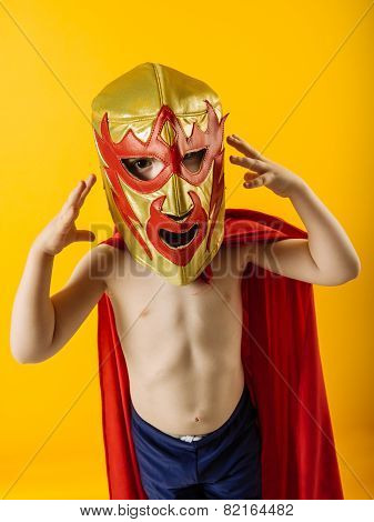 Tiny Mexican Wrestler