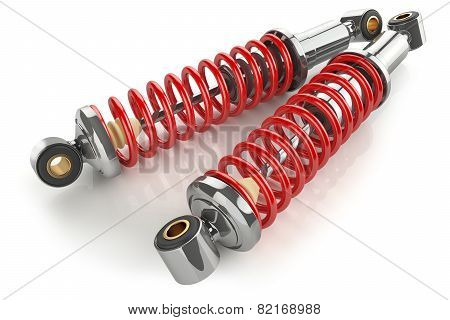 Auto Parts. Kit Of Shock Absorbers.