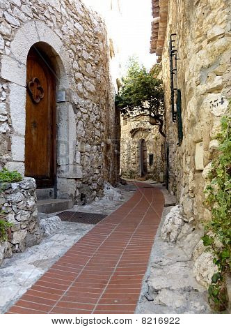 Eze Old Village Street