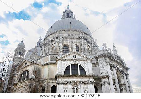 Low Angle View Of Santa Maria Della Salute