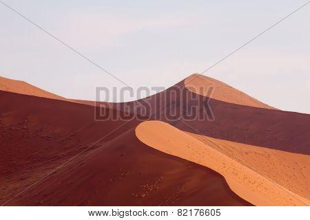 Curving dunes Sossusvlei