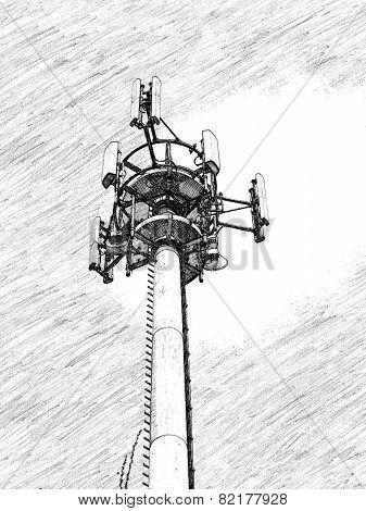 Transmitter mobile phones