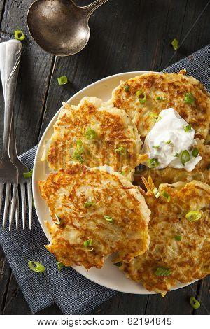 Homemade Boxty Irish Potato Pancakes