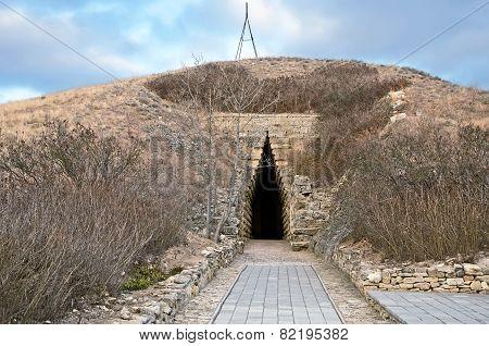 Royal Kurgan In Kerch