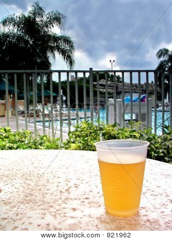 Beer and pool
