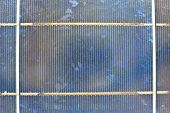 pic of solar battery  - close up solar cell battery harness energy of the sun - JPG