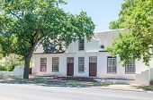 picture of south-western  - Historical building in Stellenbosch in the Western Cape Province of South Africa - JPG