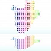 stock photo of burundi  - Vector Image  - JPG