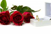 foto of jewel-case  - Red roses for a special ring me - JPG
