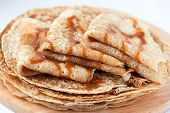 picture of crepes  - Thin pancakes - JPG