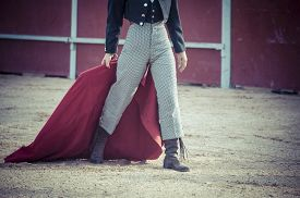 picture of bullfighting  - Courage - JPG