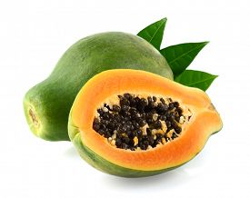 foto of papaya fruit  - Sweet papaya fruit - JPG