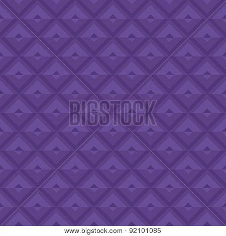 Purple Geometric Royal Pattern