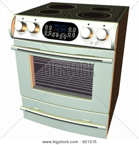 3D Baking-Oven And Stove
