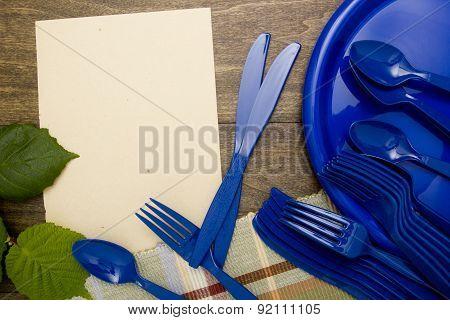 Plastic ware for picnic