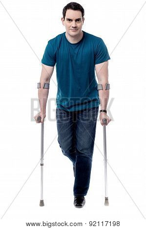 I Am Recovering From Leg Injury.