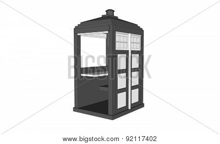 Grey Vintage Guardhouse
