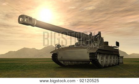 8 inch Howitzer of the Cold War