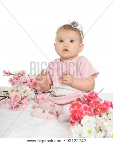 Portrait of a nice baby