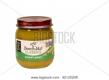 Sweet Pea Baby Food.