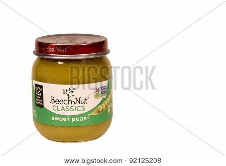 Sweet Pea Baby Food.