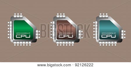 Central processing unit set