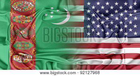 USA and Turkmenistan