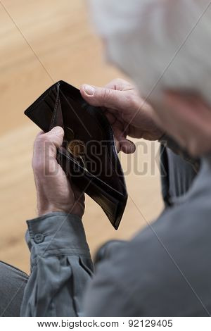 Looking At An Empty Wallet