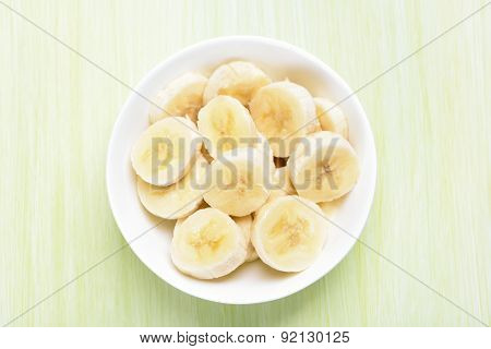 Fresh Banana In Bowl