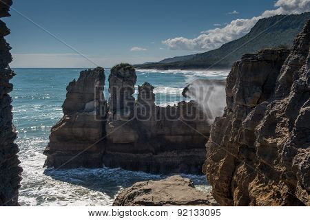 Pancake Rocks, Punakaiki, New Zealand