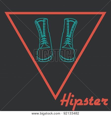 Hipster icons