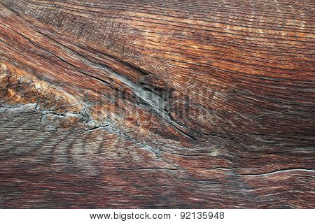 Texture Of Beautiful Old Oak Plank