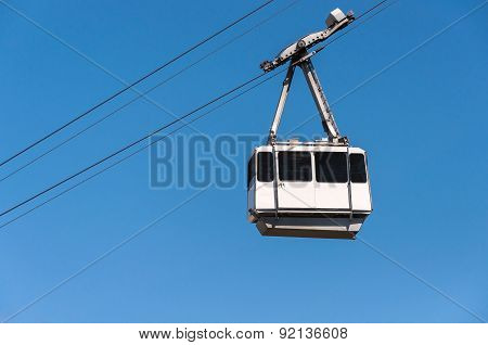 Cable Car In The City Of Gibraltar