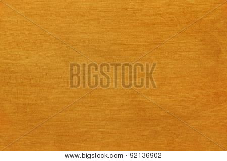 Varnish Piece Of Wood In Warm Tone