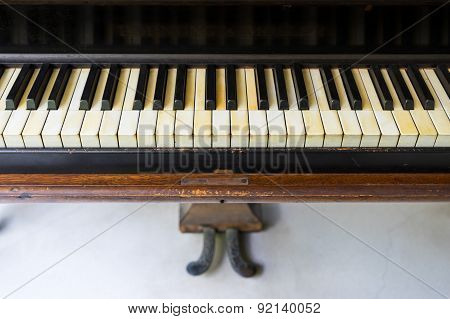 Classic Old Grand Piano