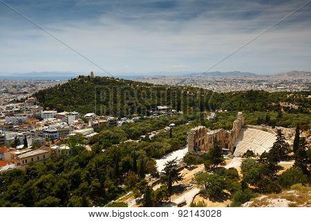 Filopappos  Hill.