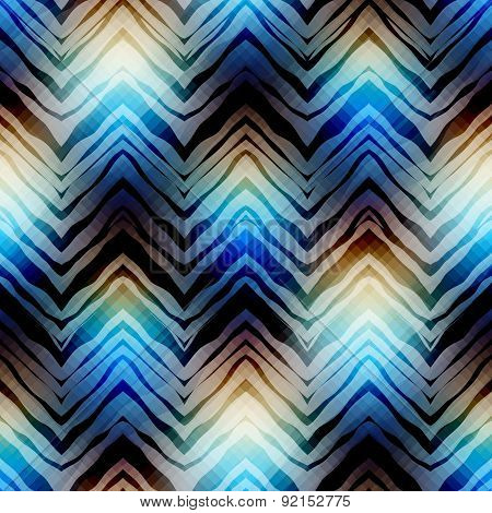 Abstract chevron geometric pattern