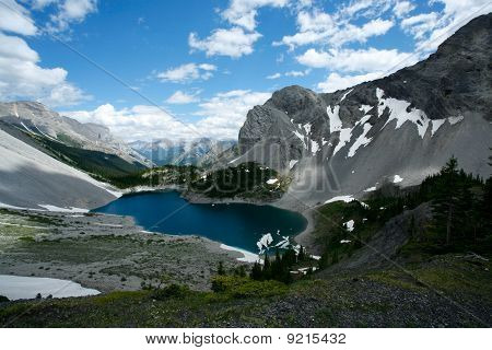 Galatea Lake In The Rocky Mountains Of Canada