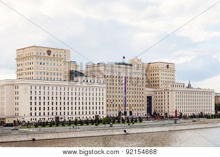 Edifice Of The Ministry Of Defense Of Russia