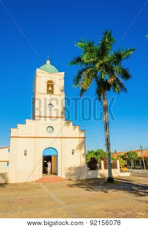 The church in Vinales, Cuba