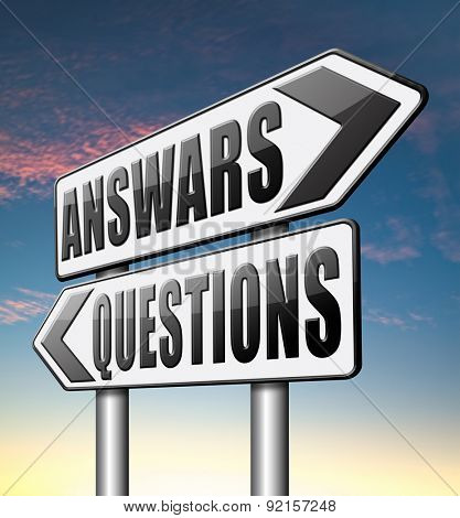 question answer ask the right questions and get an answers help or support desk solving problems and finding solutions