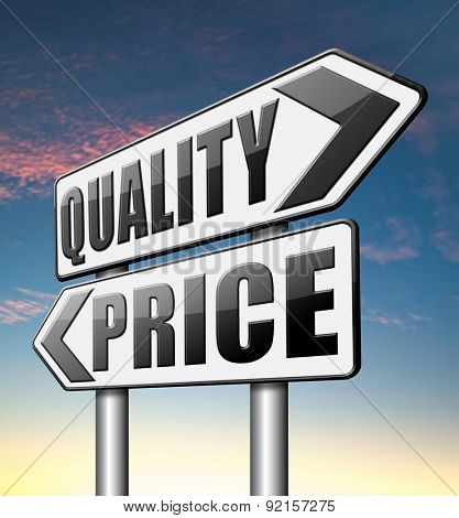 price quality product best and top or premium qualities cheap